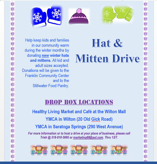 Hat And Mitten Drive 2014